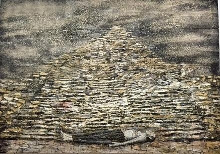 Homme sous une pyramide (1996)