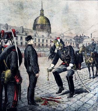 La degradation de Alfred Dreyfus