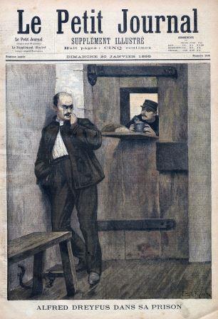 Alfred Dreyfus en carcel