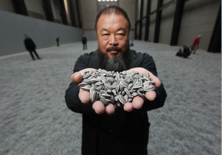 Ai Weiwei, Sunflowers seeds (2010)