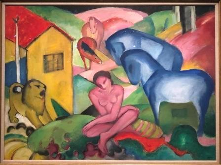 Franz Marc - Le rêve (1912)