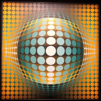 Victor Vasarely - Vega zett2 (1971)