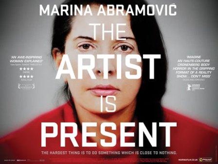 Marina Abramovic. Artista presente