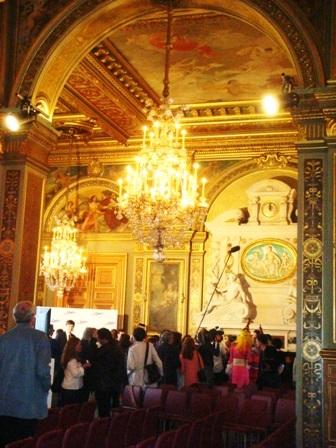 Los salones del Hôtel de Ville de París. Foto: Cinecritic.biz