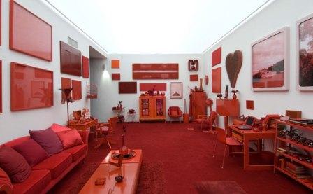 Cildo Meireles, Desvio para o vermelho (Foto Inhotim)