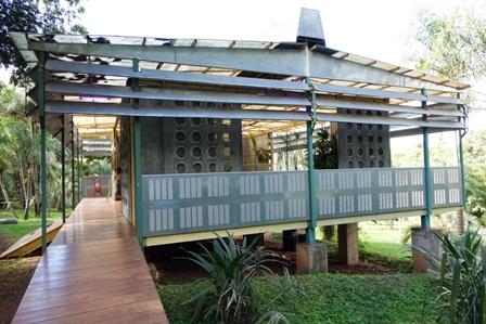 Rirkrit Tiravanija, Palm pavilion (Foto Cinecritic)