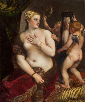 Venus del espejo Tiziano (Washington)