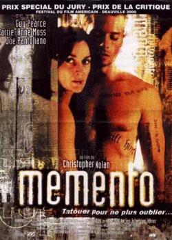 Films du mois de Novembre 2010 Memento